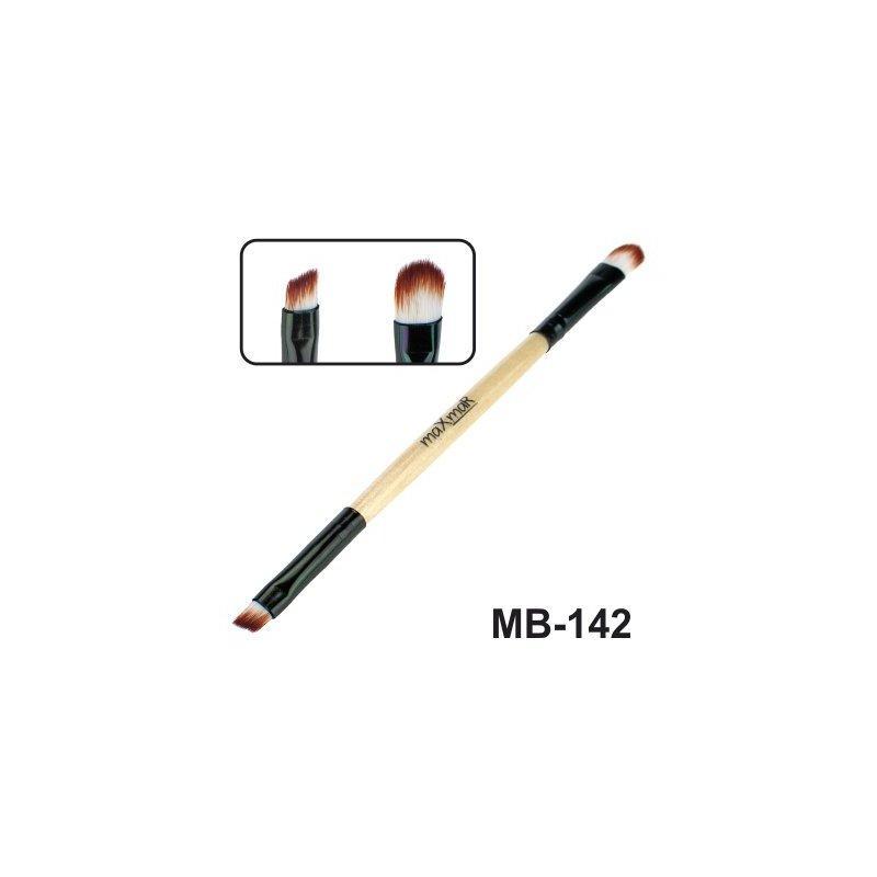 Кисть для бровей, жидких помад, консиллеров и кремообразных теней MB-142