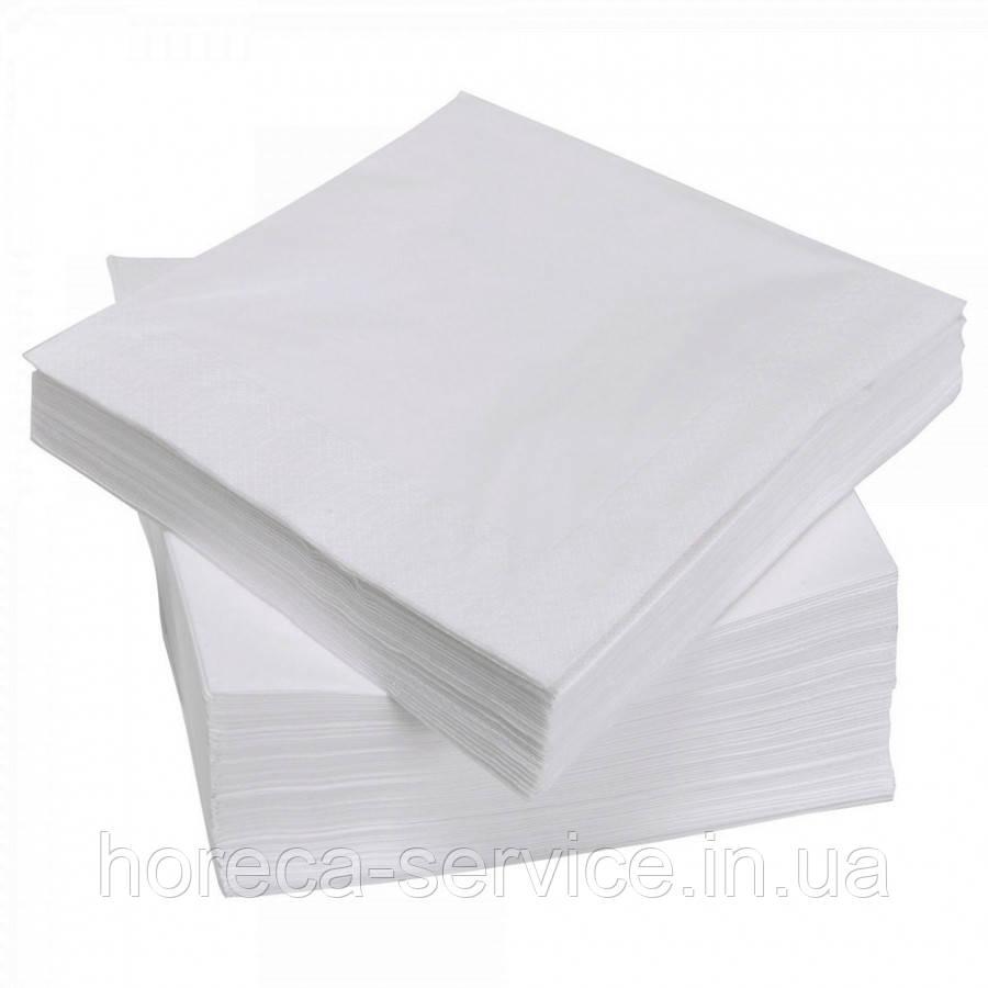 Салфетки 3-х слойные 2-го сорта в коробке 500 шт. белые