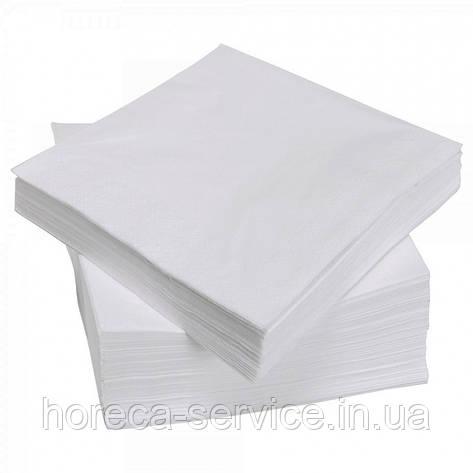 Салфетки 3-х слойные 2-го сорта в коробке 500 шт. белые , фото 2