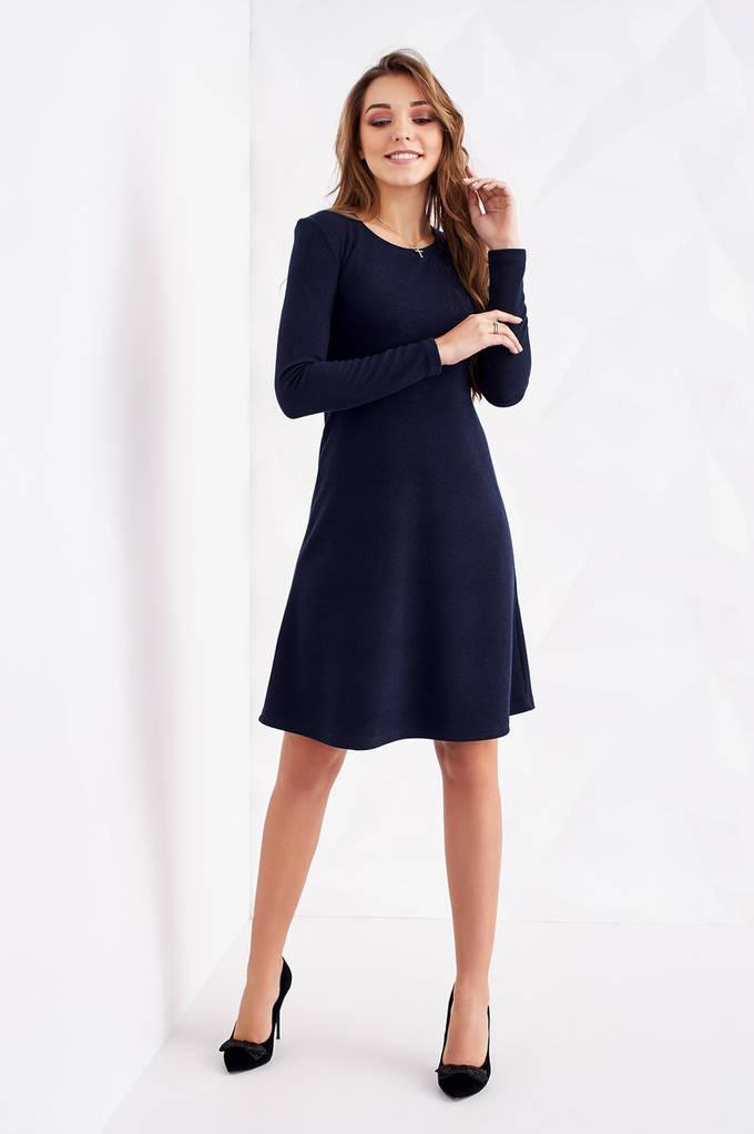 Купить Модное трикотажное платье-трапеция с люрексом S, M, L, XL в ... f9f6104921b