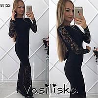 Красивое кружевное вечерние платье ан-10675-2, фото 1