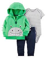"""Трикотажный набор одежды Carters для мальчика """"Весёлый Дино"""" 6М, фото 1"""