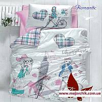 Комплект постельного белья Романтик 1,5 спальный комплект