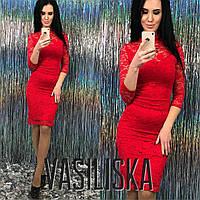 Кружевное нарядное платье ан-11736-1, фото 1