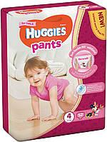 Huggies трусики-подгузники хаггис pants р.4 52шт. для девочки