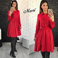 Платье - рубашка из трикотажа тв-12013-3