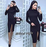 Повседневное платье миди из трикотажа тв-12015-6