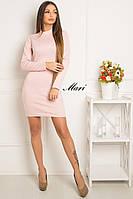 Облегающее трикотажное платье тв-12018-1, фото 1