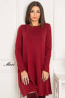 Ангоровое платье свободного кроя тв-12020-4, фото 1
