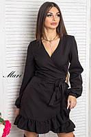 Стильное платье мини на запах тв-12021-3, фото 1