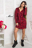 Трикотажное платье рубашка тв-12023-1, фото 1