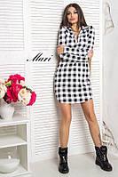Трикотажное платье рубашка тв-12023-2, фото 1