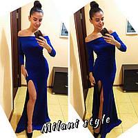 Вечернее платье из дайвинга тв-12038-2
