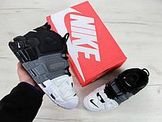 Кроссовки мужские Nike Nike Air More Uptempo Tri-Color. ТОП Реплика ААА класса., фото 3