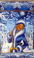 """Пакет Новогодний с рисунком """"Снегурочка"""", 25×40 см"""