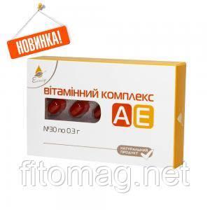 """«Витаминный комплекс А Е» №30 (ТМ """"Эликсир"""")"""