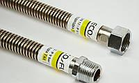 Подводка для газа eco-flex 1,0m, 3|4 дюйма, резьба ВН , фото 1