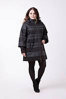 Женский демисезонный плащ, пальто большой размер