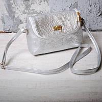 Небольшая нарядная сумка из натуральной кожи 91534