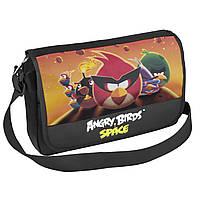 """Сумка через плечо горизонтальная """"Angry Birds Space"""""""