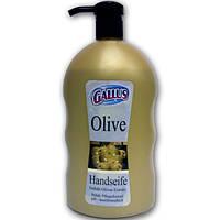 Жидкое мыло GALLUS Оливка, 1 л, с дозатором