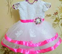 Платье нарядное для девочки 6 мес