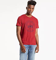 Мужская футболка Levis® Graphic Tee - Crimson Heather Circle (XL)