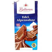 Шоколад Bellarom Edel AlpenSahne - Альпийский Крем 200г.Германия