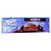Milka Noisette молочный шоколад с шоколадной пастой (300 гр) Австрия