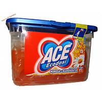 Ace универсальные капсулы для стирки с запахом Мимозы и Ромашки (20 капсул) Бельгия