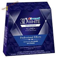 Crest 3D White отбеливающие полоски для зубов Professional Effects Whitestrips (40 шт.) USA