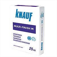 Мультифиниш М (Multifinish M) Knauf штукатурка гипсовая для машинного нанесения 25 кг