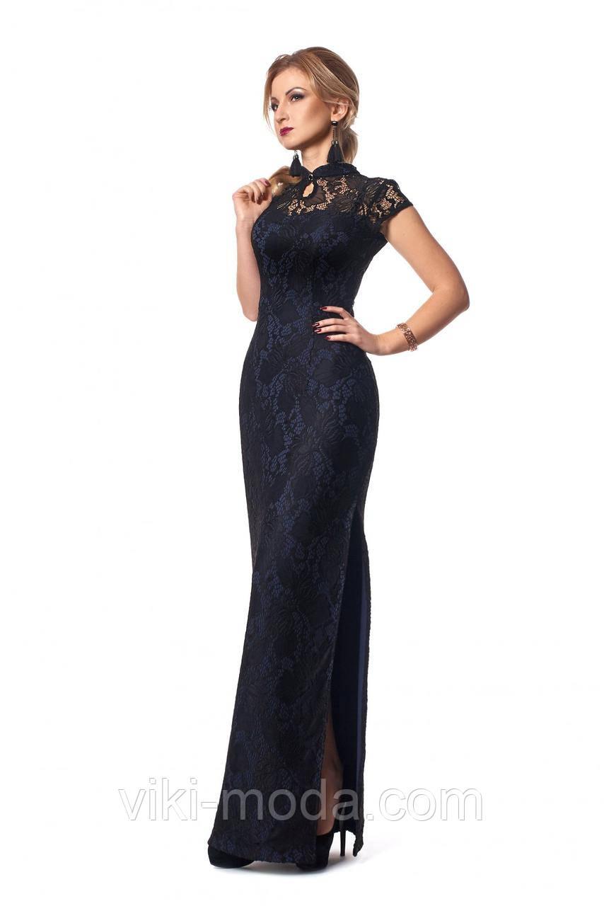 Вечернее платье из гипюра длиной в пол  продажа, цена в Киеве ... 00937d2249b