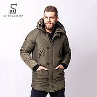 Зимняя мужская куртка RaD Onoma хаки