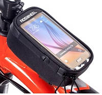 Сумка на раму велосипедная для смартфона велосипедная Roswheel 121048L-A (6920636717933)