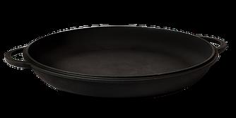 Чугунная крышка-сковорода 240