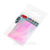 Фольга для дизайна с эффектом «Битое стекло»* PNB 03 Аквамарин – прозрачный, аквамариновый