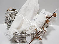 Махровое полотенце Maison D'or Marsel 85х150см белый