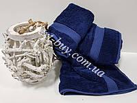 Бамбуковое банное полотенце Maison D'or Amadeus 85х150см темно-синий
