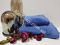 Maison D'or Amadeus хлопковое полотенце для лица 50х100см синее