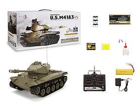 Танк HENG LONG US M41A3 Bulldog 3839-1 1:16, фото 3