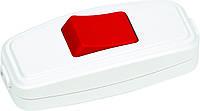 Выключатель для Бра красный-белый