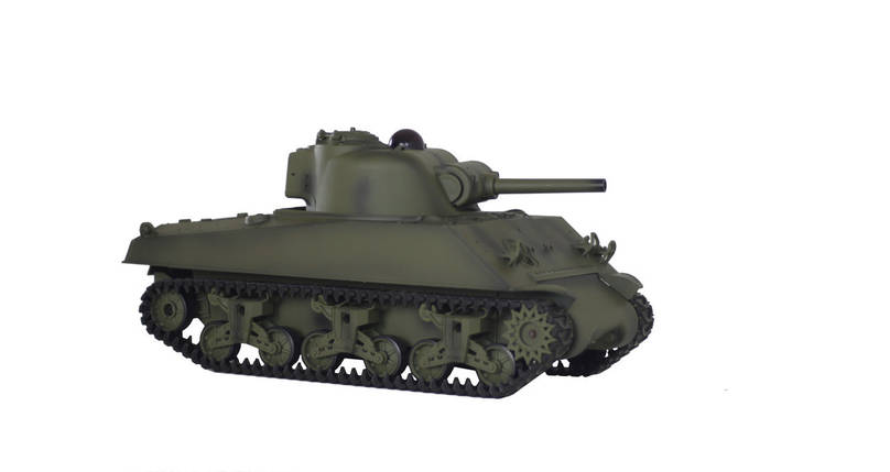 Танк HENG LONG M4A3 Sherman с пневмопушкой и и/к боем (HL3898-1-IR), фото 2