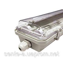 Промышленный светильник 2*1200мм IP65 EVRO-LED-SH-40 slim Евросвет