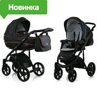 Детская универсальная коляска 2 в 1  Mioobaby Zoom,Black/Orange(zoom)