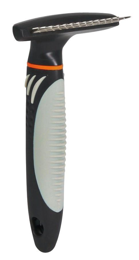 Расческа-грабли для длинной шерсти 7x14 см Trixie для собак