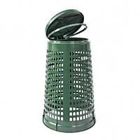 Корзина-держатель мешка пластмассовая 110л.