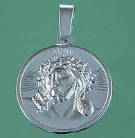 Срібний підвісок без вставок, фото 1