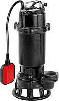 Насос чугунный с измельчителем для грязной воды 750 Вт, 16000 л/мин, YATO YT-85350