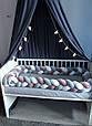 Бортик - коса в детскую кроватку 120 см (цвет на выбор), фото 9